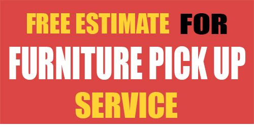 Free sofa pick up service mjob blog for Furniture donation pick up
