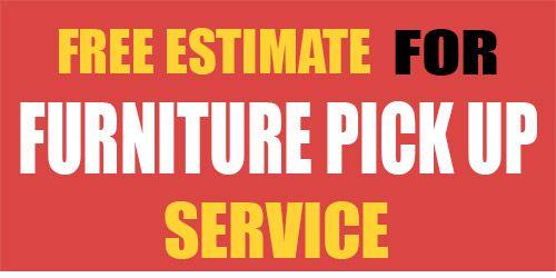 Furniture Pick Up Service Big Rich Hauling